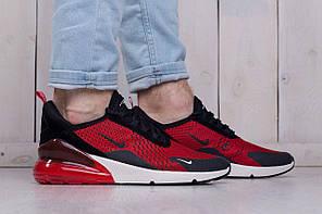 Мужские кроссовки Nike Air Max 270 Red красные топ реплика, фото 3