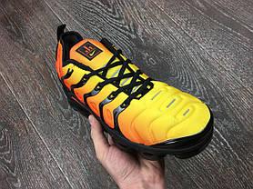 Мужские кроссовки Nike Air Vapormax Plus Yellow топ реплика, фото 3