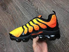 Мужские кроссовки Nike Air Vapormax Plus Yellow топ реплика, фото 2