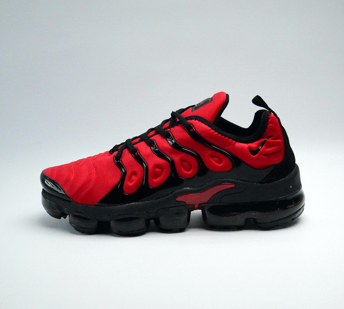 Кроссовки мужские Nike Vapormax Tn+ Red топ реплика