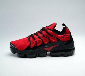 Кроссовки мужские Nike Vapormax Tn+ Red топ реплика, фото 2