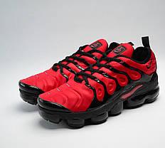 Кроссовки мужские Nike Vapormax Tn+ Red топ реплика, фото 3
