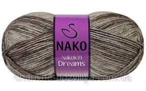 Пряжа для ручного и машинного вязания NAKO Nakolen Dreams