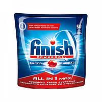Таблетки для посудомоечных машин Finish All in 1Max PowerBall 50 шт