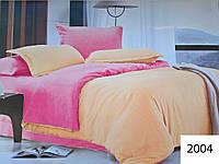 Комплект постельного белья однотонный Двуспальный Поликоттон Moda 2004-d