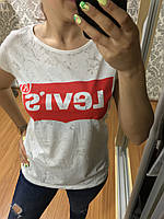 Футболка женская реплика Levis
