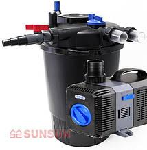 Комплект оборудования для пруда, Sunsun CPF 30 000, CTP-12 000