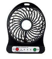 Портативный вентилятор  Mini Fan Portable black
