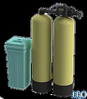 Установка умягчения воды непрерывного действия Nerex DSF1465-CV-Twin, фото 1