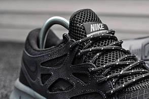 Кроссовки мужские Nike Free Run Dark Gray топ реплика, фото 2