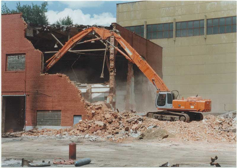 Демонтаж здание