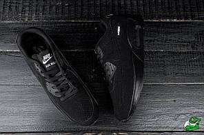 Мужские кроссовки Nike Air Max 90 Black топ реплика, фото 2