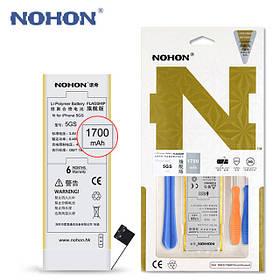 Аккумулятор Nohon A69TA006H (18S2001-SL) для Apple iPhone 5S (ёмкость 1700mAh)