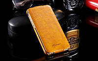Кожаный чехол флип Floveme для Samsung Galaxy S7 Edge G935, фото 1