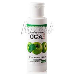 Жидкость для снятия гель лака GGA Professional Яблоко 100 мл