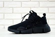 Мужские кроссовки Nike Pocket Knife DM черные топ реплика, фото 2