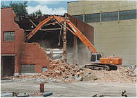 Демонтаж здание Днепр
