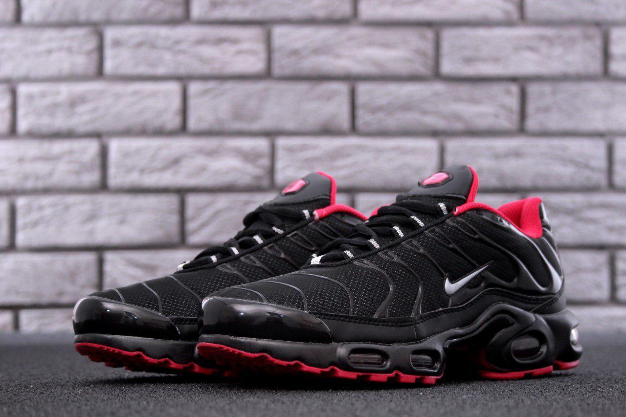 Мужские кроссовки Nike Air Max TN Plus Black топ реплика