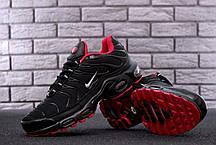 Мужские кроссовки Nike Air Max TN Plus Black топ реплика, фото 3