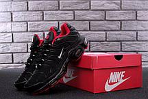 Мужские кроссовки Nike Air Max TN Plus Black топ реплика, фото 2
