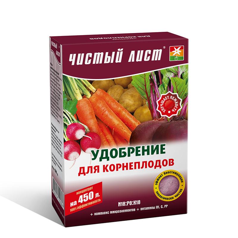 Удобрение для корнеплодов Чистый Лист, 300г