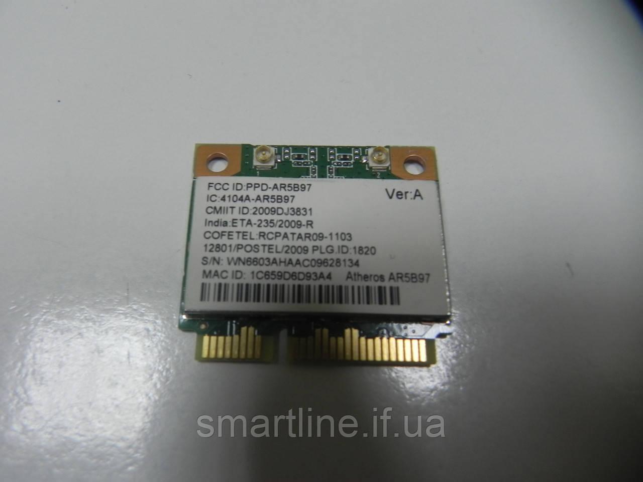 Адаптер wifi для ноутбука emachines e528, ar5b97