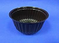 Упаковка из полистирола ПС-21д коричневый, 250 мл, 100 шт/уп
