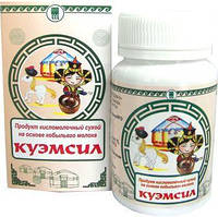 КуЭМсил базовый Арго на основе кобыльего молока, для желудка, кишечника, иммунитет, дисбактериоз, витамины
