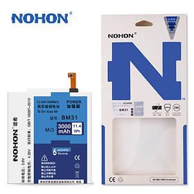 Аккумулятор Nohon BM31 для Xiaomi Mi 3 (ёмкость 3000mAh)