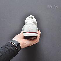 Мужские стильные кеды Italy White белые, фото 2
