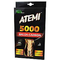 Ракетка ATEMI 5000 Pro Balsa Carbon Eco-Line Новинка 0e559ea780b02