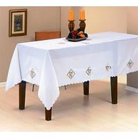 Скатерть ARYA Kayaoglu Olive 160x220 см. 1550342 белый