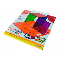 Магнитный конструктор платформа для строительства, Playmags PM172
