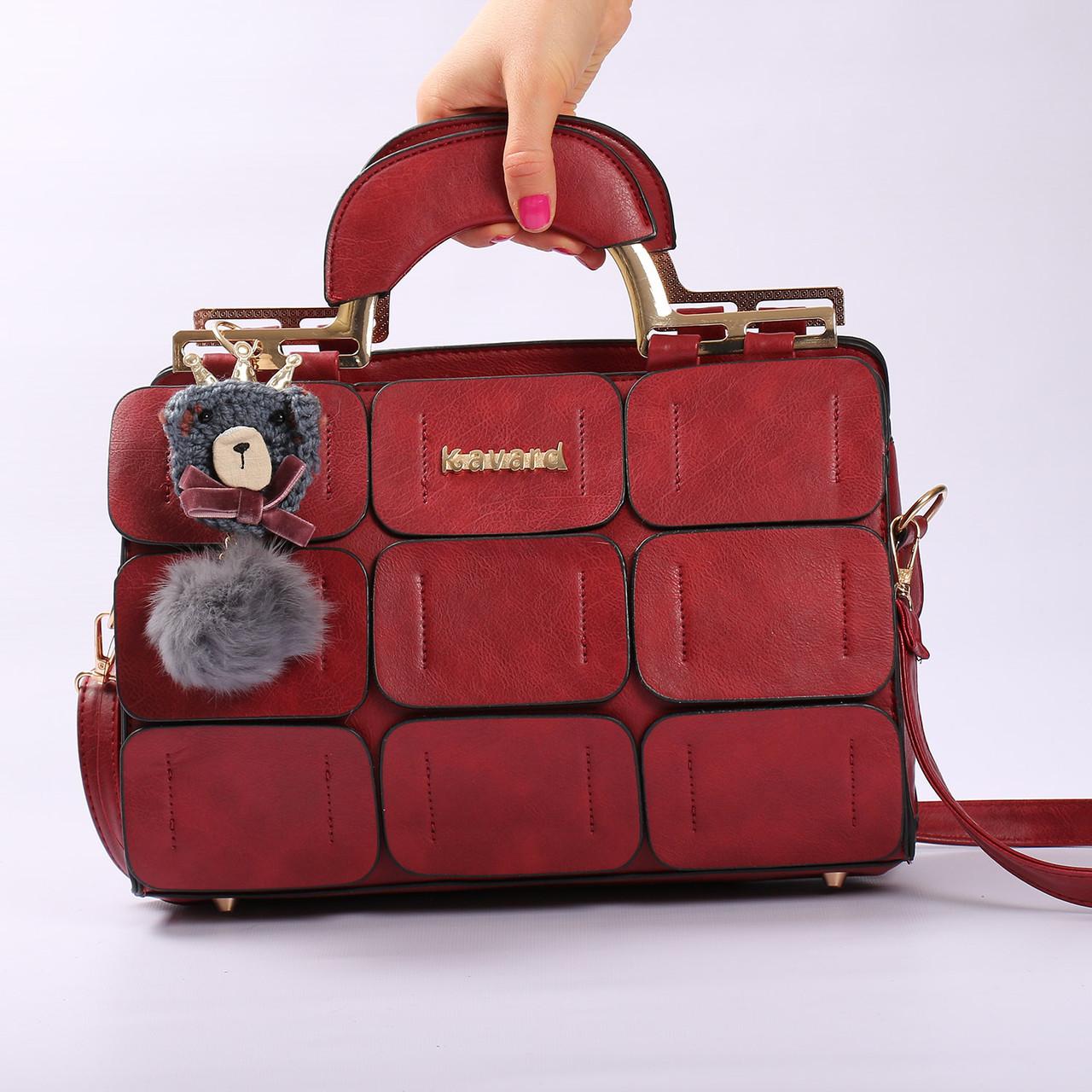 Женская повседневная сумка-саквояж