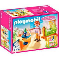 Игровой набор Детская комната с люлькой, Playmobil 5304