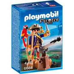 Игровой набор Капитан пиратов с пушкой, Playmobil 6684