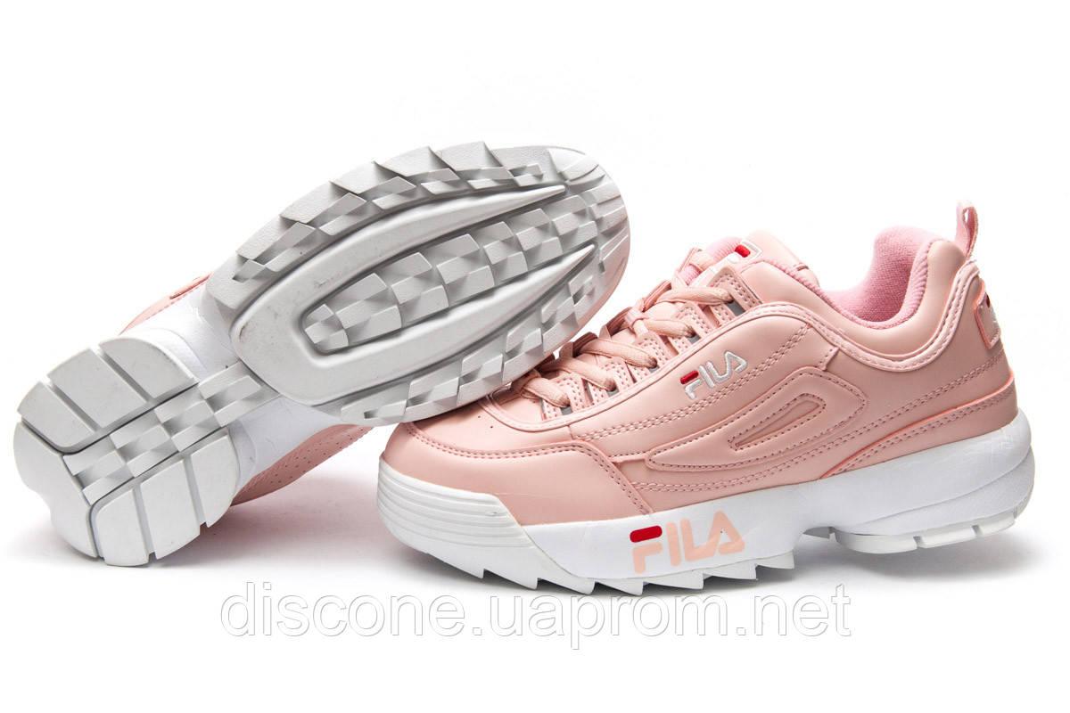 Кроссовки женские ► Fila Disruptor 2,  розовые (Код: 13553) ►(нет на складе) П Р О Д А Н О!