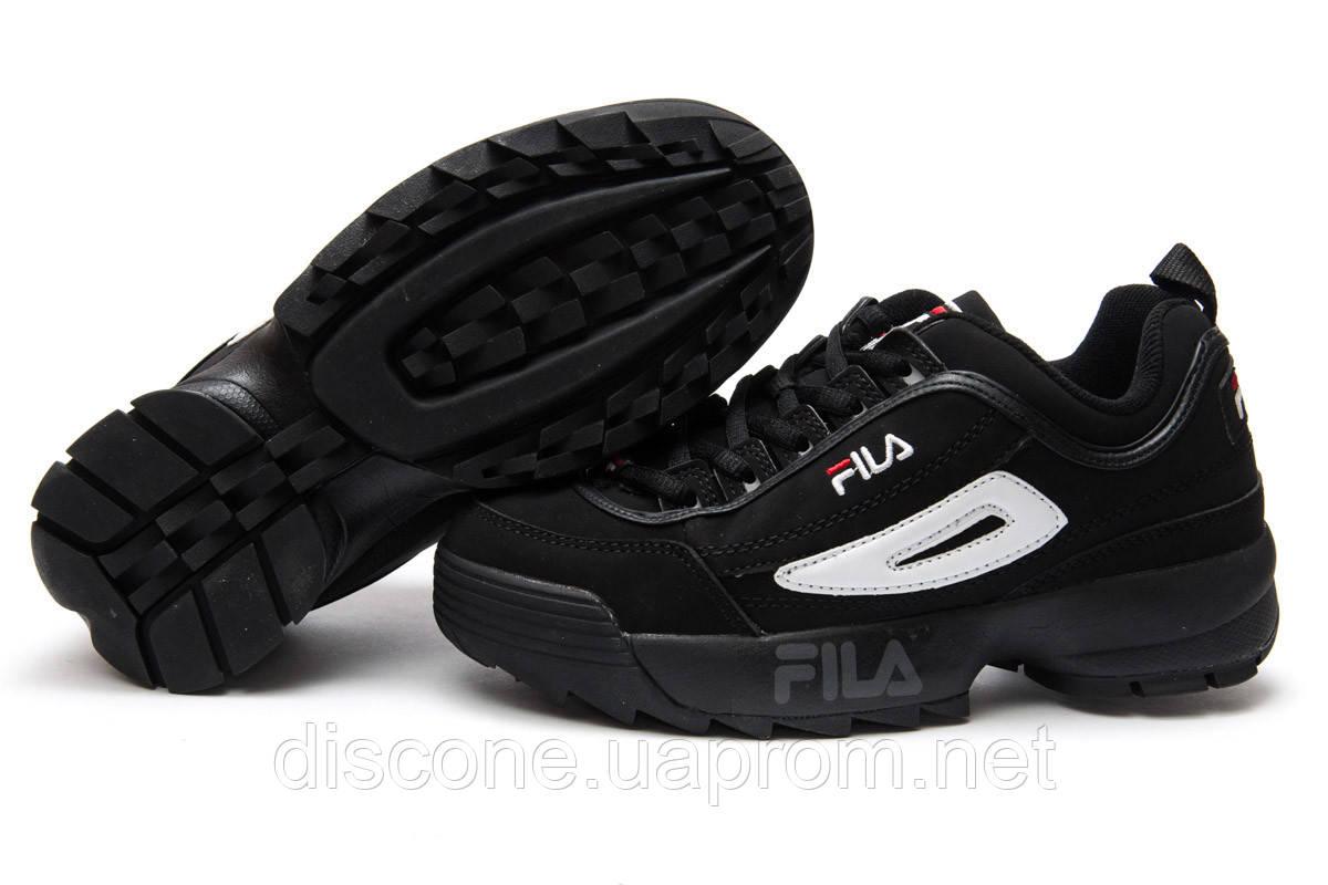 Кроссовки женские ► Fila Disruptor 2,  черные (Код: 13551) ►(нет на складе) П Р О Д А Н О!