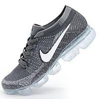 Кроссовки для бега Nike Air VaporMax темно серые. Топ качество! - Реплика р.(40, 41, 42)