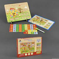 Деревянная обучающая игрушка Расчётная Доска c23211