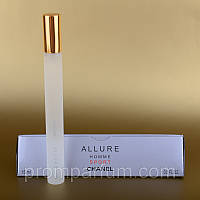 Мужской мини парфюм Chanel Allure Homme Sport 15 ml в треугольнике ALK