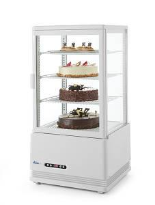Витрина холодильная наст. 68 л Hendi 233634