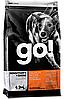 Go! Для щенков и взрослых собак с лососем и овсянкой, 2,72 кг