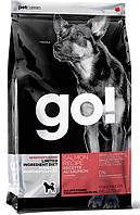 Go! Для щенков и взрослых собак беззерновой с лососем, 2,72 кг