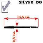 Серебристый Серый Карандаш для Глаз Косметический Nabi Silver, Набором в 12 шт., фото 3