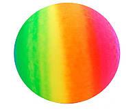 Мяч резин. ND104  цвет радуга, 45см 350g
