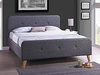 Ліжко з ДСП/МДФ в спальню двоспальне Malmo 160 SIGNAL