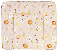Пеленальный матрас Ceba Baby WD 85*70 multi  cat & dog бежевый