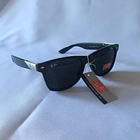Солнцезащитные очки Полароид Ray Ban Wayfarer черный