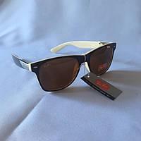 Солнцезащитные очки Полароид Ray Ban Wayfarer коричневый deb15ab8cefb2